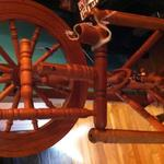 Fiona the spinning wheel by Winsome Timbers